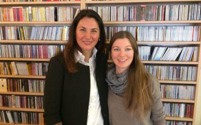 Meeting Gerlinde Wallner from Radio Stephansdom
