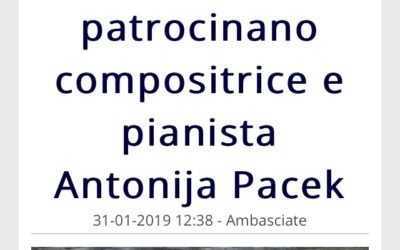 Giornale Diplomatico endorses my concert in Rome