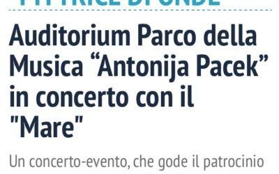IL Quotidiano Del Lazio endorses my concert in Rome