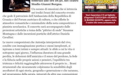 LEGGERE TUTTI magazine supports my concert at Auditorium