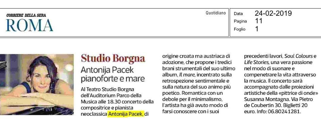 Corriere della Sera Newspaper