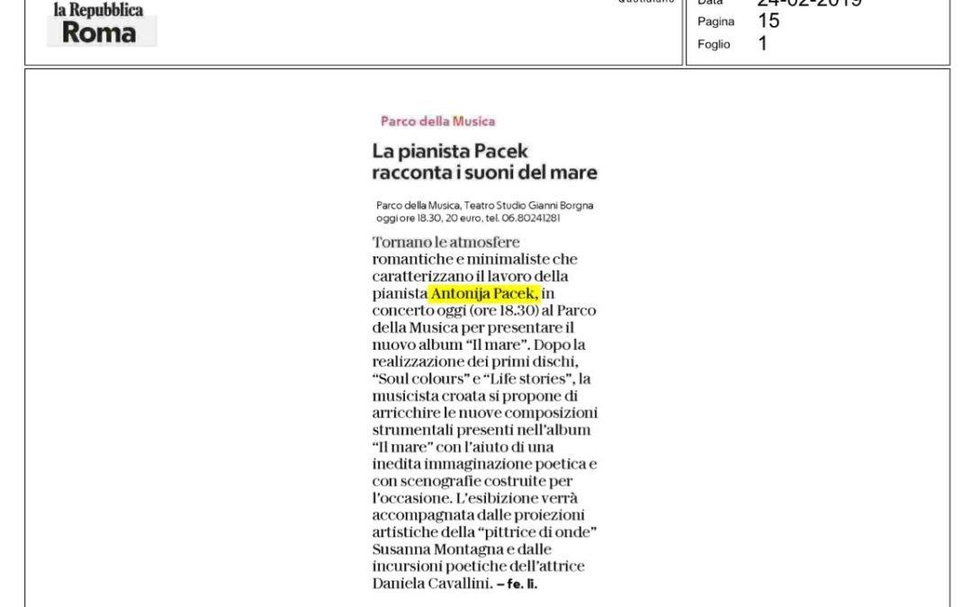 La Repubblica Roma Newspaper