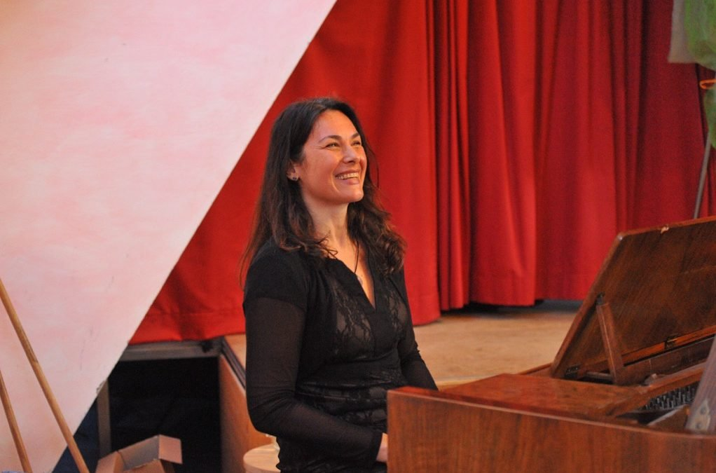 A memory from the Charity concert in Schönau