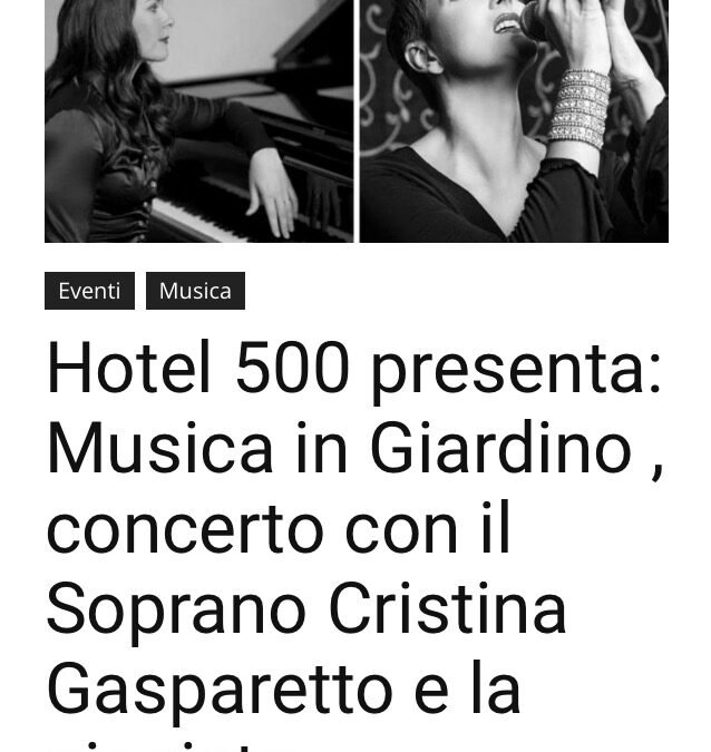 Free Magazine writes about the charity concert in Florence