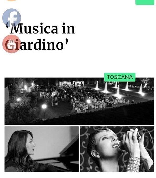 "Corriere Nazionale – Toscana: ""Music in Garden"""