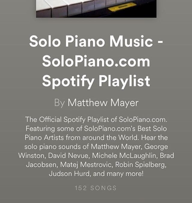 Solo Piano Music Spotify playlist