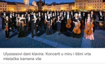 """Jutarnji List about """"Days of Piano"""""""