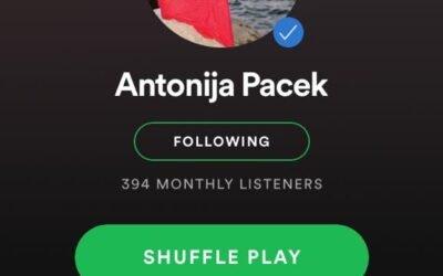 Subscribe to Antonija's Spotify Artist Page