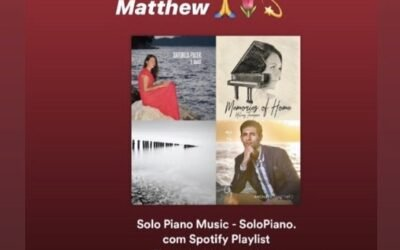 Solopiano.com playlist includes IL MARE