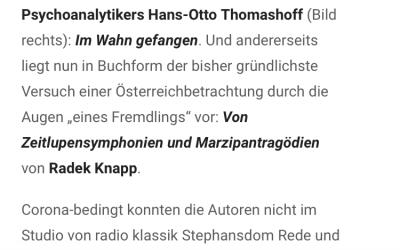 "Klassik Radio Vienna airs ""Forever"""
