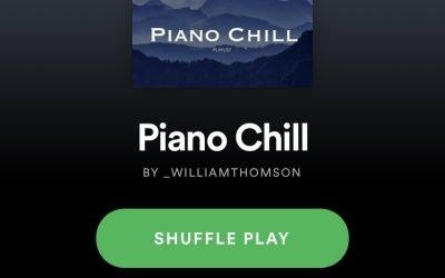 Piano Chill Spotify Playlist