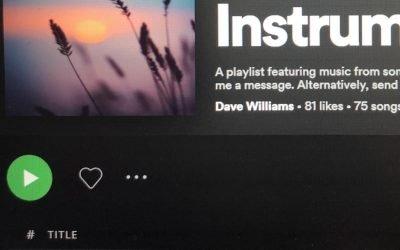 Instrumental Discovery Playlist on Spotify