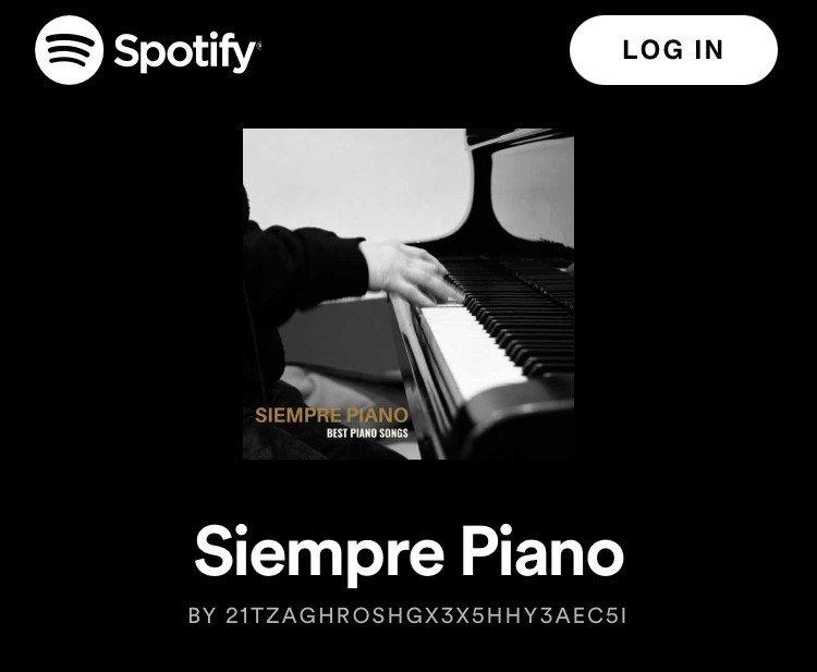 Siempre Piano – Slow Piano playlist