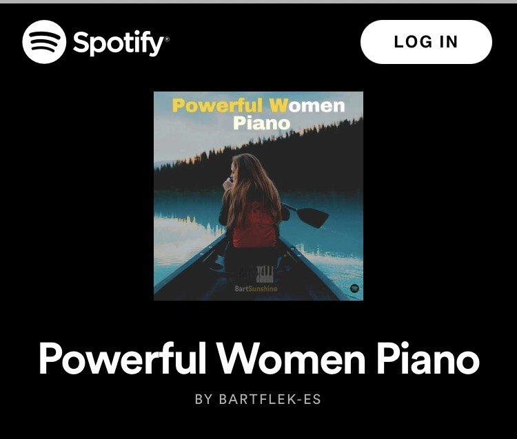 Powerful Women Piano