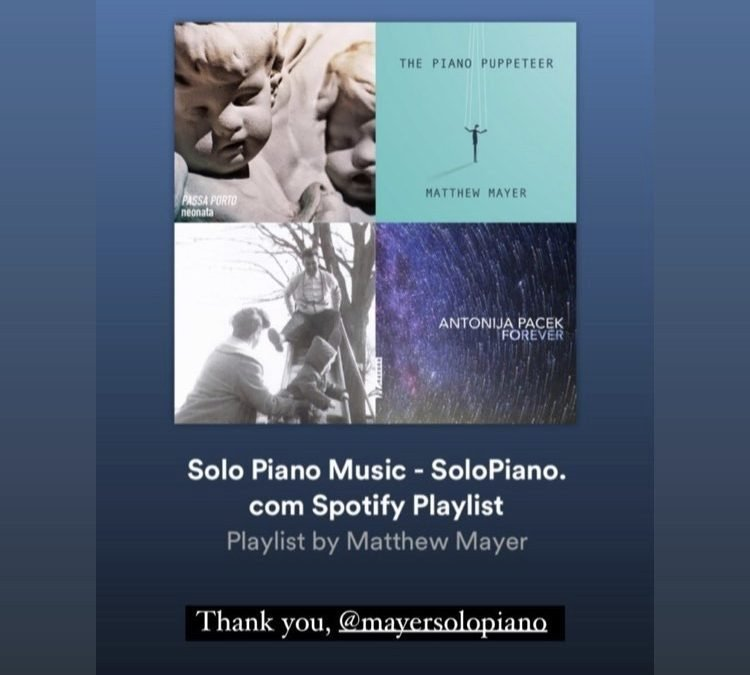 Solopiano.com Playlist – Matthew Mayer