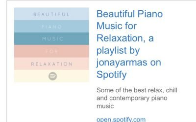 Beautiful Piano Music for Relaxation Playlist