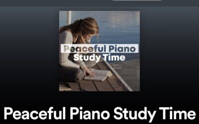 Peaceful Piano Study Time