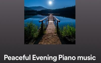 Peaceful Evening Piano Music