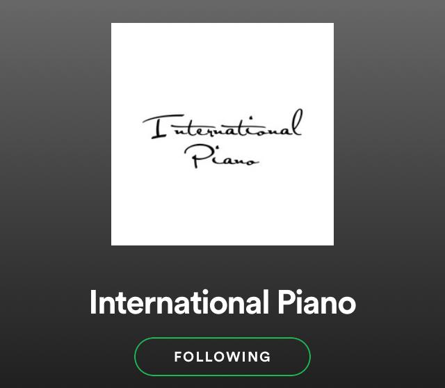 International Piano from JAPAN