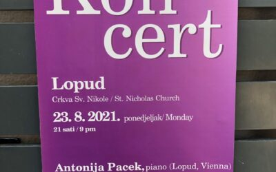 Charity Concert on Lopud