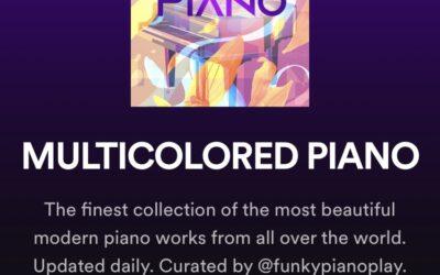 Multicolored Piano